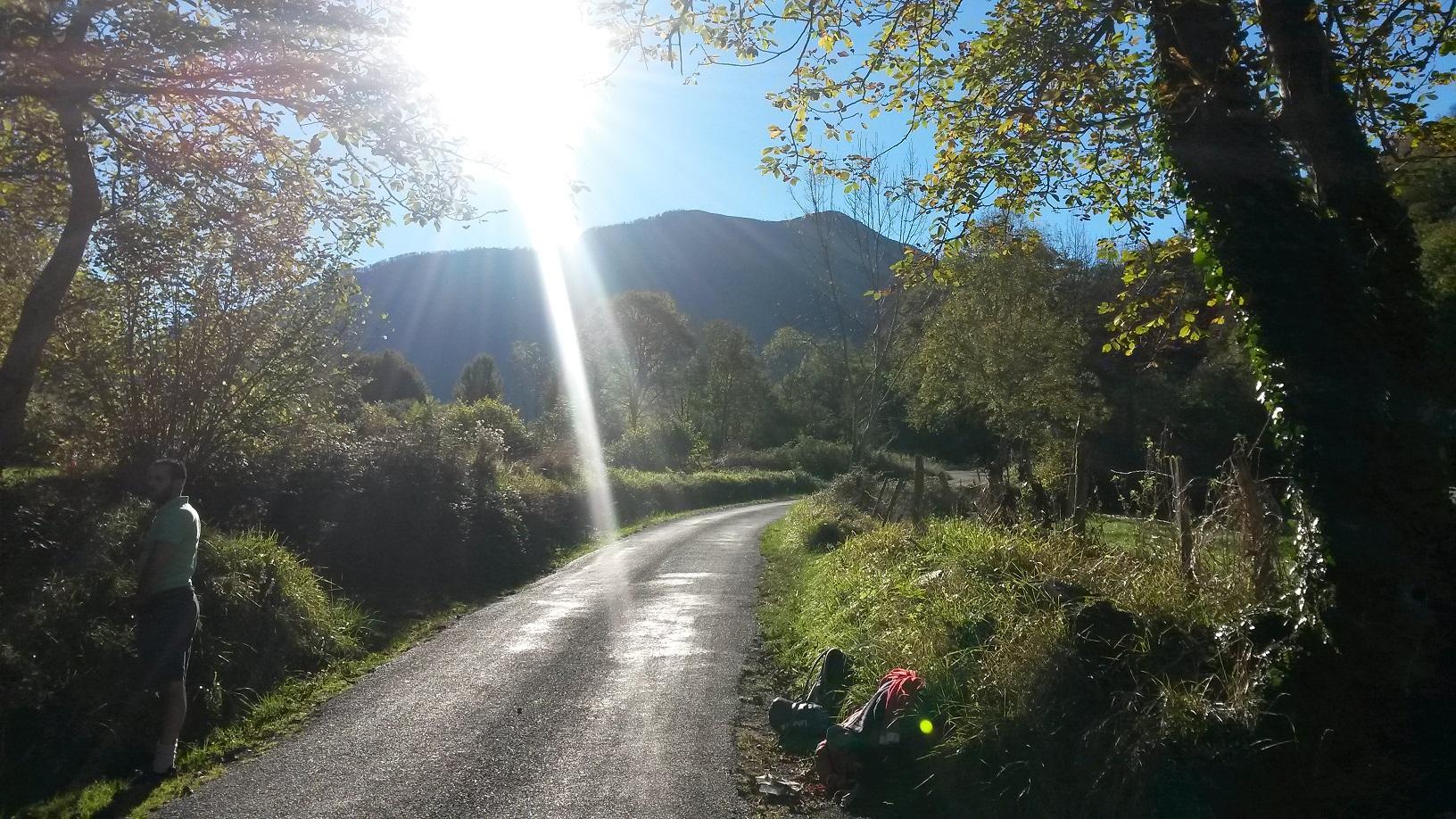 Le chemin de saint Jacques direction Lourdes le GR 78