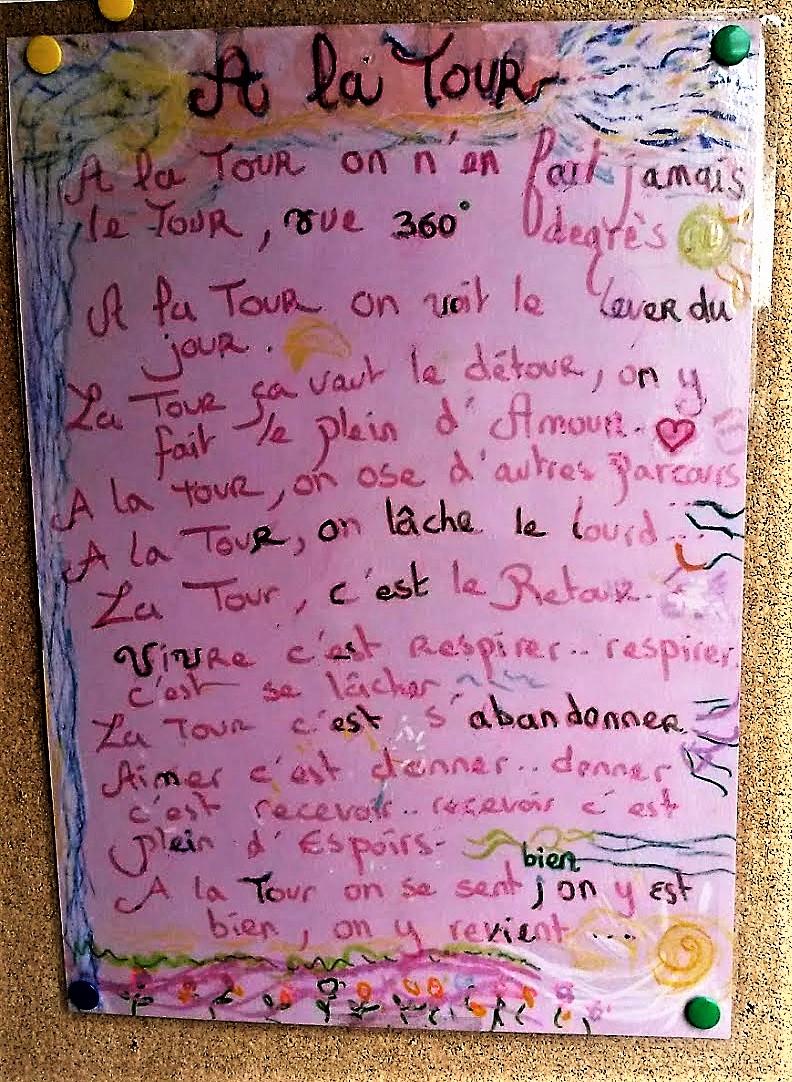 Les dictons de la Tour Merci Jean Pierre Claudia Magli Graziella et tous les autres ...