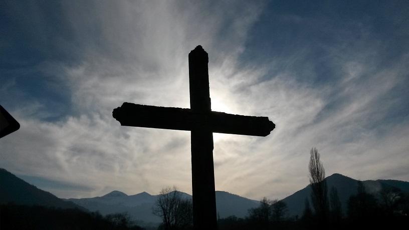 La Croix sur le Chemin à Eysus